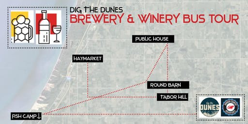 Dig the Dunes Brewery/Winery Bus Tour