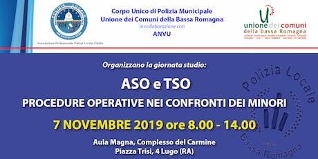 ASO e TSO - Procedure operative nei confronti dei minori biglietti