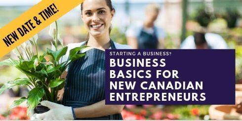 Business Basics for New Canadian Entrepreneurs