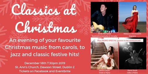 Classics at Christmas- a night of Classical, Jazz and Christmas Favourites