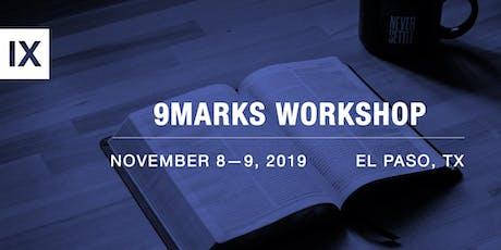9Marks Healthy Church Workshop entradas