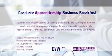 Graduate Apprenticeship Business Breakfast tickets