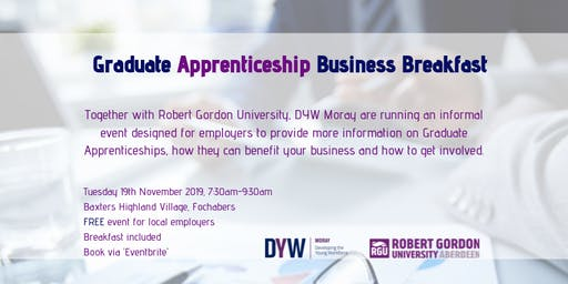 Graduate Apprenticeship Business Breakfast