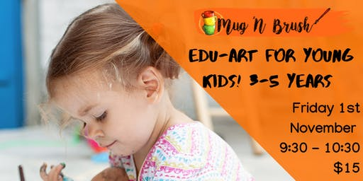 Edu-art for young kids. 3-5 years