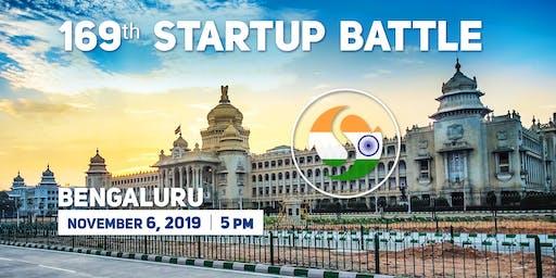 169 Startup Battle in Bangalore, November 6, 2019