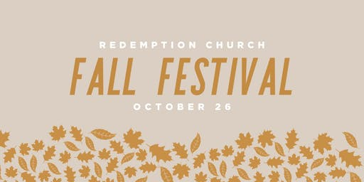 Fall Festival at Redemption Grand Rapids