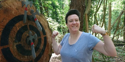 Axe throwing event (2.00 - 3.30pm, 19 October 2019, near Cardiff)