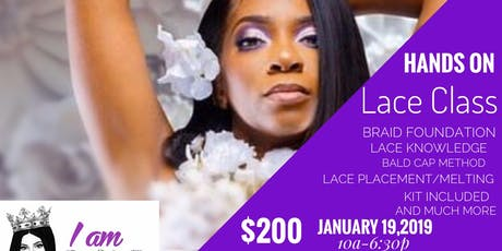 Iam SHE Lace Class tickets
