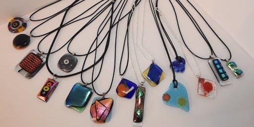 Fused Glass Pendants Workshop