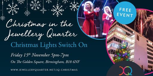 Jewellery Quarter Christmas Lights Switch On 2019