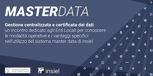 Master Data. Gestione centralizzata e certificata dei dati.