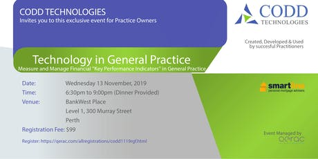CODD Technologies for Practice owners tickets