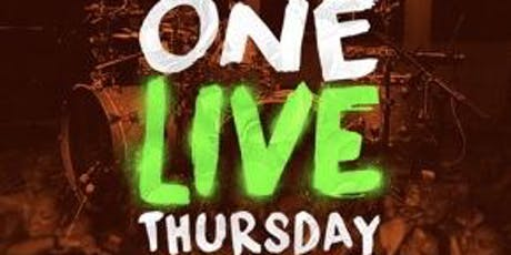 """ONE """"LIVE"""" THURSDAY AT THE SOCIAL tickets"""