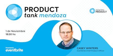 Casey Winters en Mendoza - Product Tank Mendoza entradas