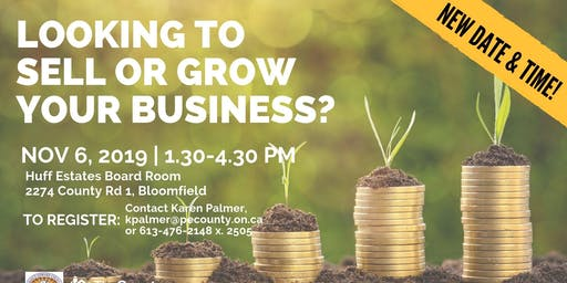 Looking to sell or grow your business?