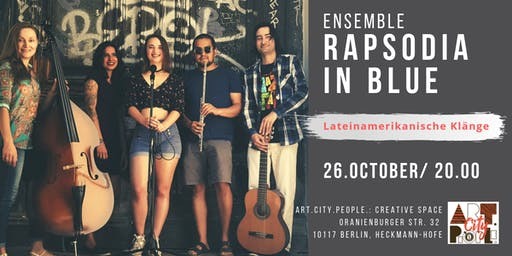 Lateinamerikanische Klänge / Ensemble Rapsodia in Blue