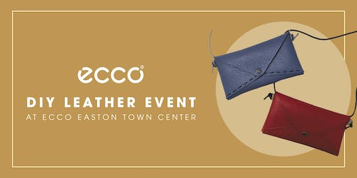 ECCO Easton Town Center DIY Leather Event