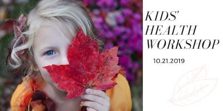 Kids' Health Workshop tickets