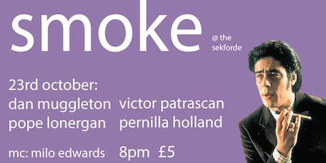 Smoke  Comedy featuring Dan Muggleton tickets