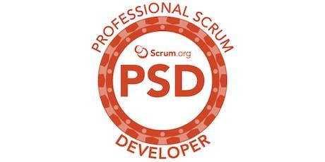Professional Scrum Developer - SP Janeiro ingressos