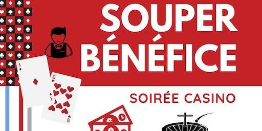 SOUPER-BÉNÉFICE DU CNCB - Soirée casino