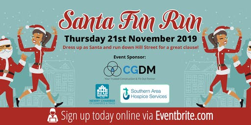 Hospice Santa Fun Run Newry 2019 @ 6pm Sharp