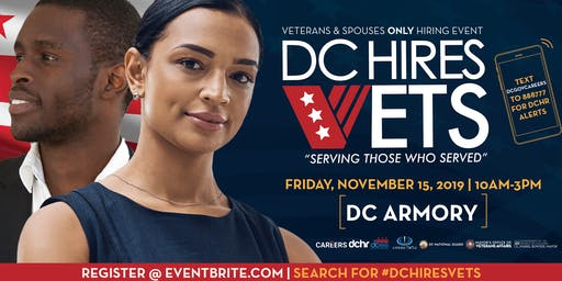 #DCHiresVets Event - Open to all Veterans and Veterans' Spouses