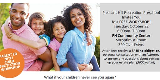 Parent Ed Nite: Child Protection Workshop