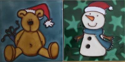 Christmas Tile Decorating Workshops