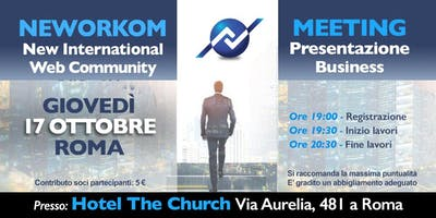 Neworkom... at The Church!