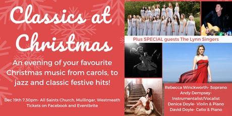 Classics at Christmas Mullingar- A Night Of Favourite Festive Music tickets