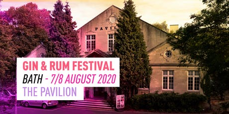 The Gin & Rum Festival - Bath - 2020 tickets