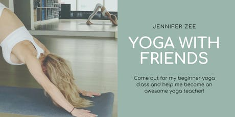 Yoga with Friends tickets