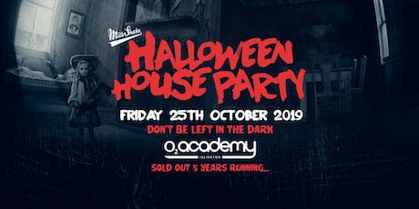 The Halloween House Party 2019 tickets