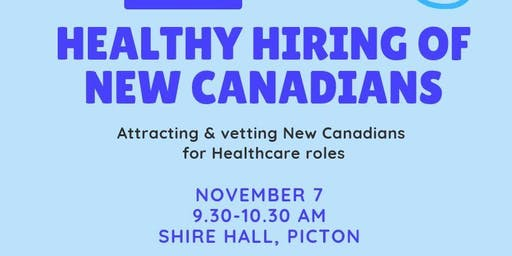 Healthy Hiring: Attracting New Canadians for Health Care Roles