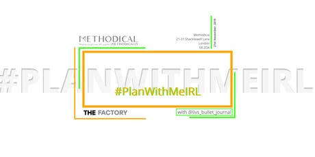 #PlanWithMe IRL: Live Bullet Journal Session with Liv's Bullet Journal tickets
