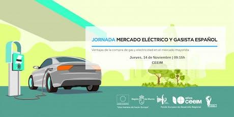 Jornada sobre el Mercado Eléctrico y Gasista en España entradas