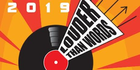 Louder Than Words Festival 2019: Discounted Invited Guest Weekend Pass tickets