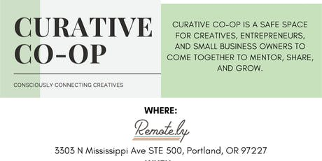 Curative Co-op Sponsored By: Remote.ly tickets
