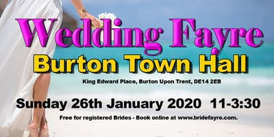 Burton Town Hall Wedding Fayre