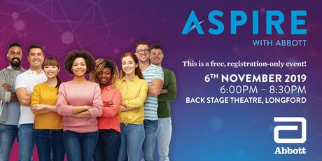 Aspire with Abbott - Longford tickets
