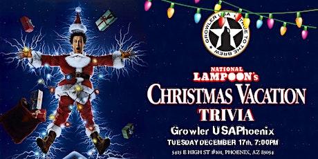 National Lampoon's Christmas Vacation Trivia at Growler USA Phoenix tickets