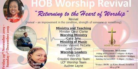 HOB Worship Revival tickets