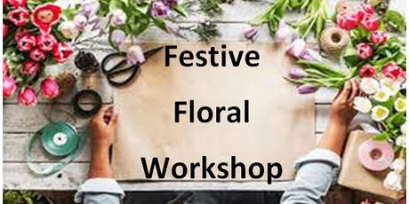 Festive Floral Workshop @ Chingford Library tickets