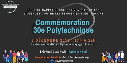 Commémoration 30e Polytechnique