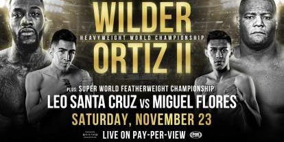 Wilder vs Ortiz II at Port City