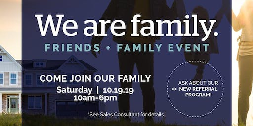 Delaware We Are Family: Friends + Family Event