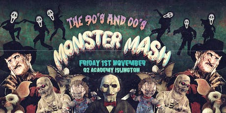 The Monster Mash - 90's and 00's Halloween Party tickets