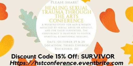 Healing Sexual Trauma Through The Arts Conference