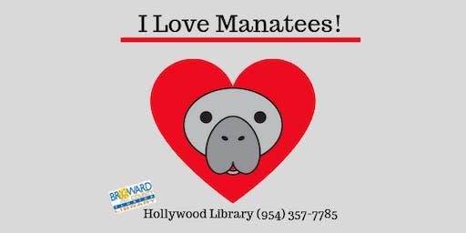 I Love Manatees!